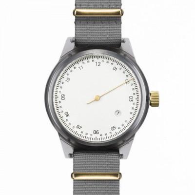One Hand Minuteman Watch | Offwhite & Grey