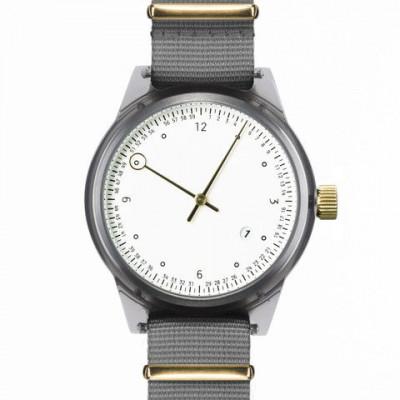 Minuteman Two Hand Watch | Grey
