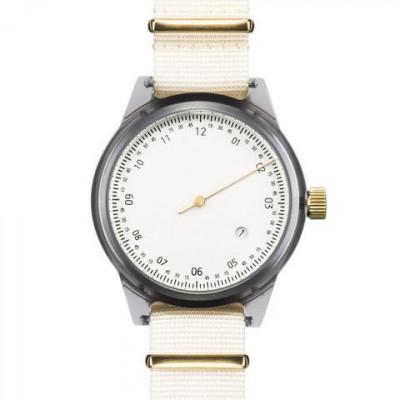 One Hand Minuteman Watch | Offwhite & Beige