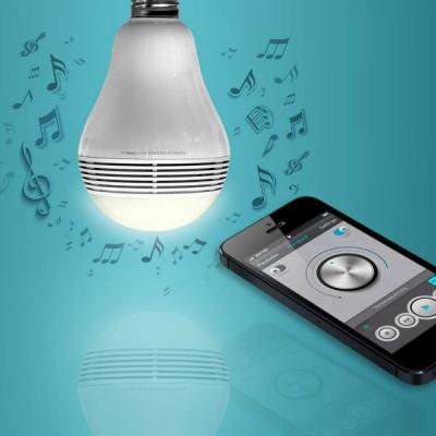 PLAYBULB Color   Bluetooth Lautsprecher Glühbirne