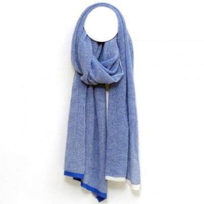 MIRA Scarf   Soft Blue