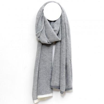 MIRA Scarf   Silver Grey