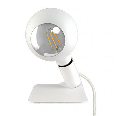 Tischlampe Iride   Weiß