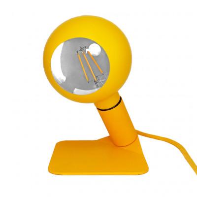 Tischlampe Iride   Gelb