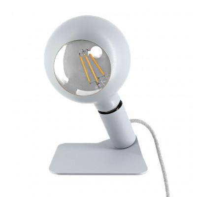 Tischlampe Iride   Grau