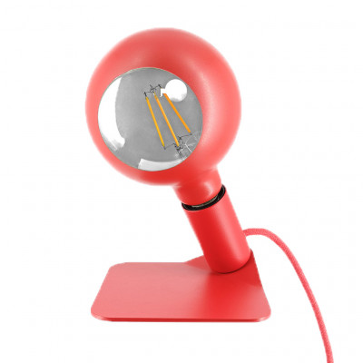 Tischlampe Iride   Rot