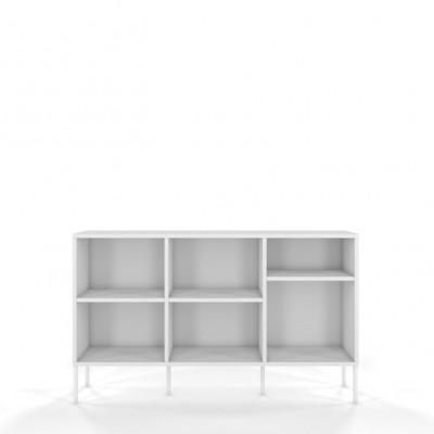 Bücherschrank DanCan Mirka | Weiß