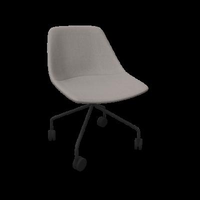 Stuhl Mishell Basis auf Rädern | Grau