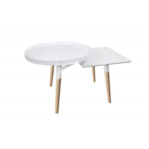 Side Table Milton 3   White