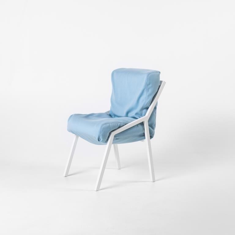 Misfit Chair Fester Rahmen | Blau
