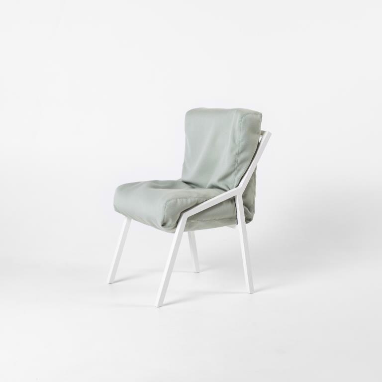 Misfit Chair Fester Rahmen   Grün