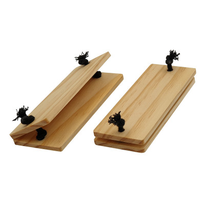 Paar Topflappen für Kasserolle   Holz