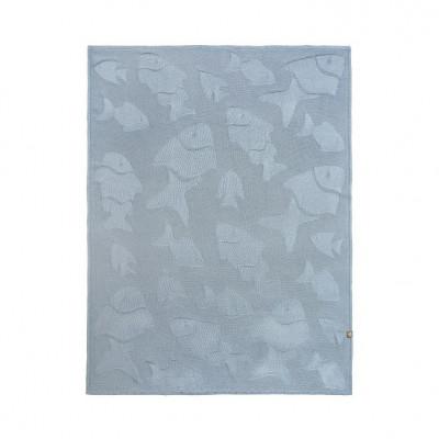 Blanket   Grey Fish