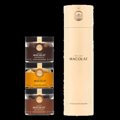 Schokoladenüberzogene Macadamia | Connoisseur