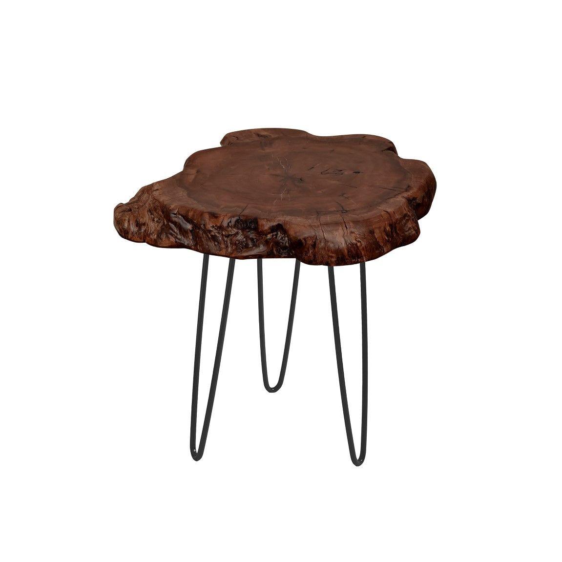 Small Side Table Montanio   Dark Wood