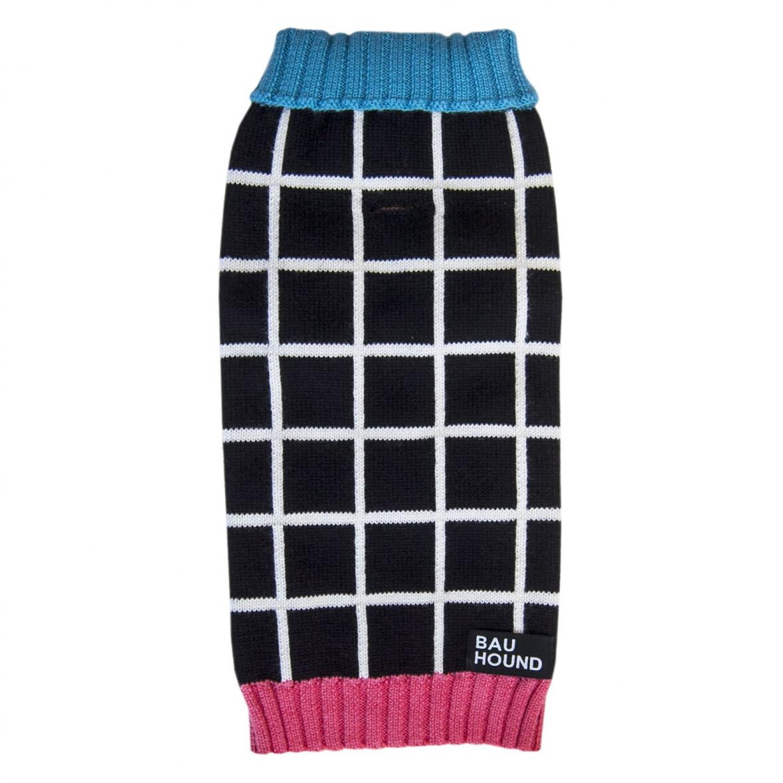 Grid Colourblock Sweater