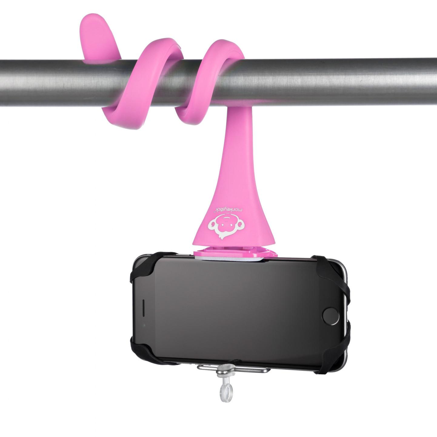 Flexible Phone Mount   Pink