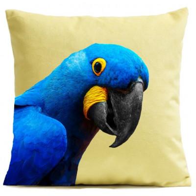 Kissenbezug Papagei