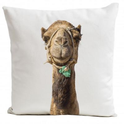 Kissenbezug Lächelndes Kamel