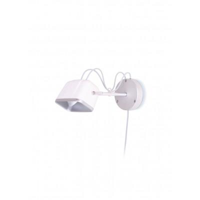 Wall Mounted MOB Lamp | Mat White