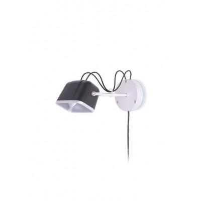 Wall Mounted MOB Lamp | Mat Black