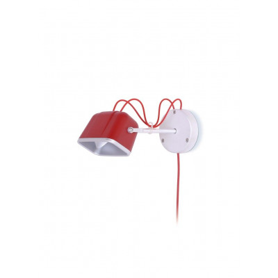Wall Mounted MOB Lamp | Mat Red