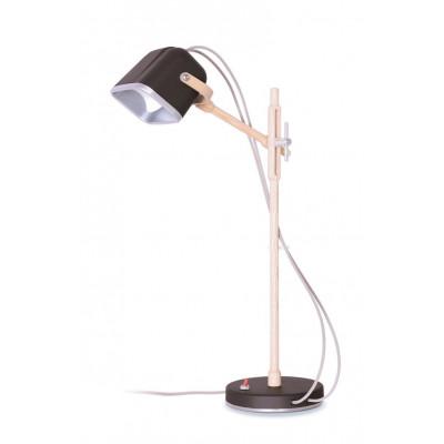 Wood MOB Lamp | Mat Black