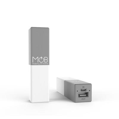 Powerbank Mobcube 2600 mAh | Grau
