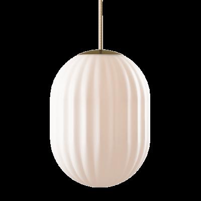 Pendant Lamp Bright Modeco + | Brass & Cream Cord