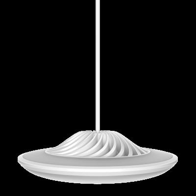 Smarte Hängeleuchte Model F   Weiß
