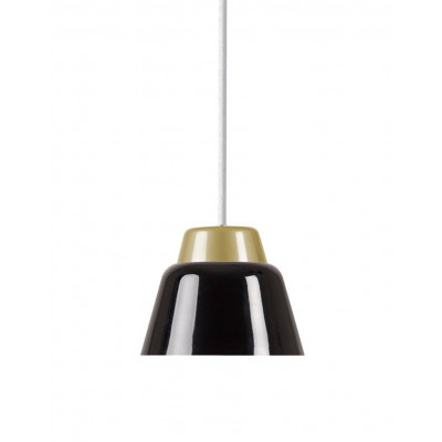 Modu Pendant Lamp Steel   Black & Gold