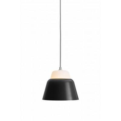 Modu Pendant Lamp Glass   Black