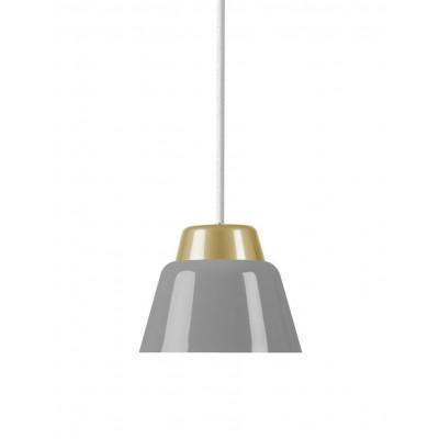 Modu Pendant Lamp Steel   Grey
