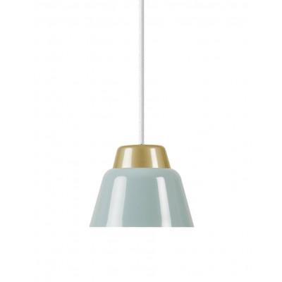 Modu Pendant Lamp Steel   Blue