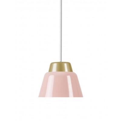 Modu Pendant Lamp Steel   Pink