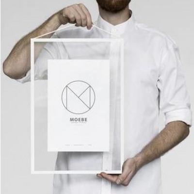 Bilderrahmen A3 | Weiß