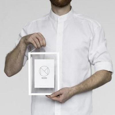 Bilderrahmen A5 | Weiß