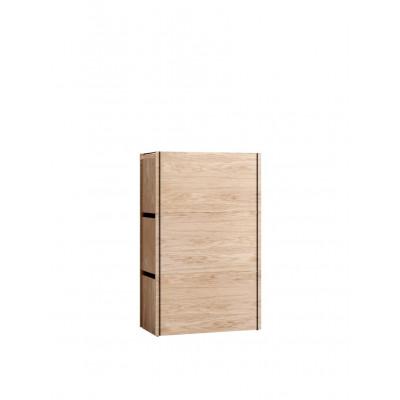 3-er Set Aufbewahrungsboxen | Oak & Black