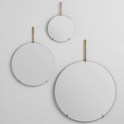 Wandspiegel | Messing