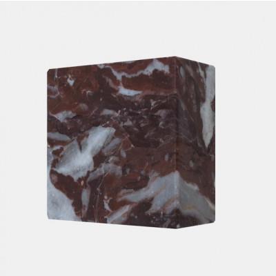 Magnetischer Marmorwürfel MONOLYTH | Rouge Royal