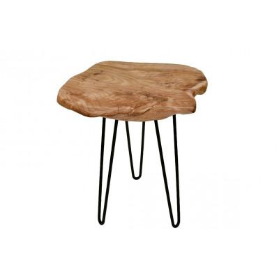 Kleiner Beistelltisch Montanio | Helles Holz