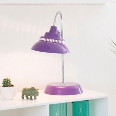 Big Table Lamp   Violet
