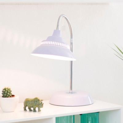 Big Table Lamp   Soft Purple