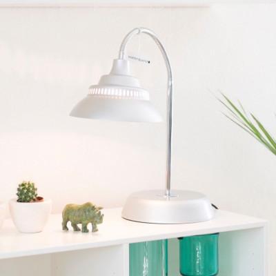Big Table Lamp   Metallic