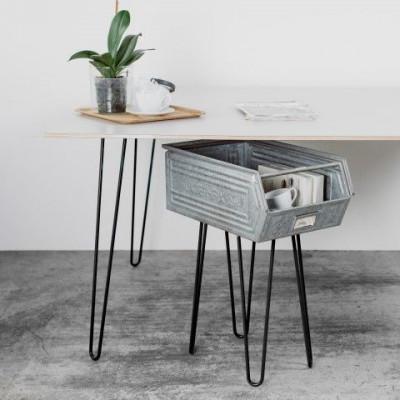 Set of 4 Table Legs | Black