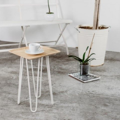 Set of 4 Table Legs | White