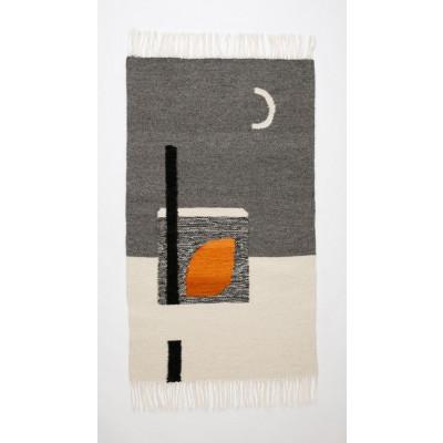 MOONLIGHT Kilim Rug | Grey