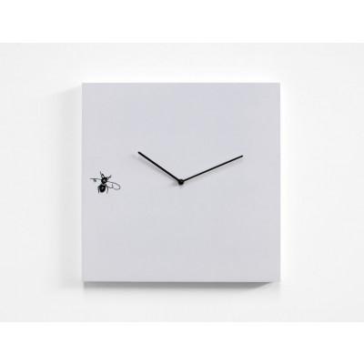 Mosca Uhr Weiß