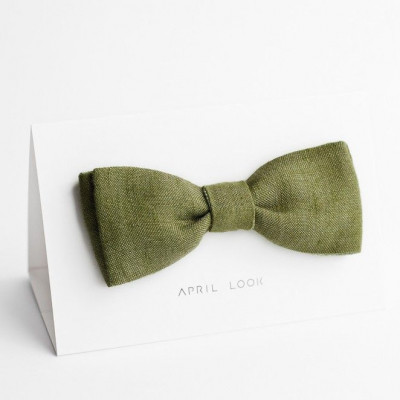 Reversible Bow Tie | Moss Green