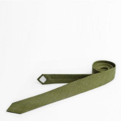 Tie | Moss Green